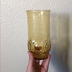 Vintage amber vase
